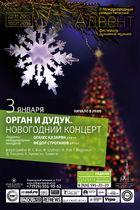 Орган и дудук. Новогодний концерт